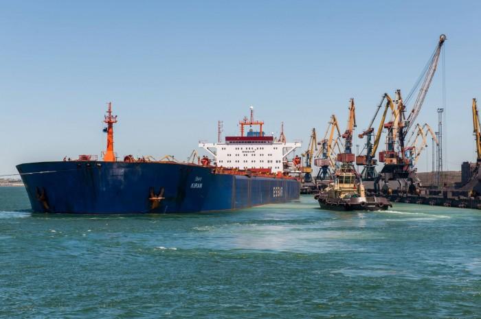 Украинские порты за 7 месяцев 2019 года перевалили больше грузов, чем за 8 месяцев прошлого года