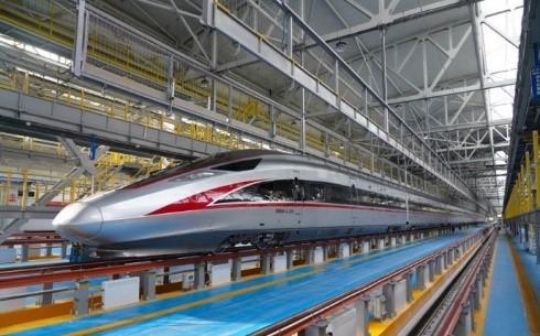 В Китае создали морозоустойчивый высокоскоростной поезд