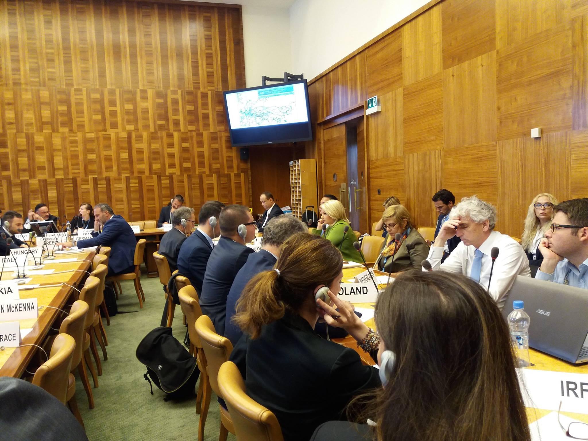 4 сентября 30-я сессия РГ по тенденциям и экономики транспорта